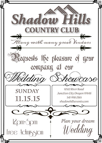 wedding showcase invite